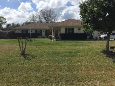Ocala Single Family Home For Sale: 5224 Pecan Road