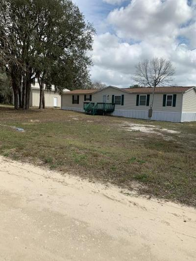 Ocala Single Family Home For Sale: 5885 SW 168th Court
