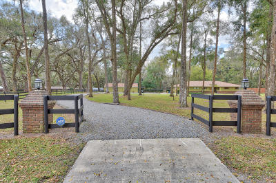 Ocala Single Family Home For Sale: 8 Saddle Drive