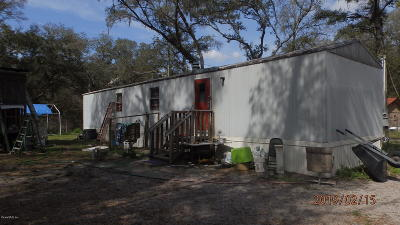 Dunnellon Mobile/Manufactured For Sale: 10231 SW 157th Lane