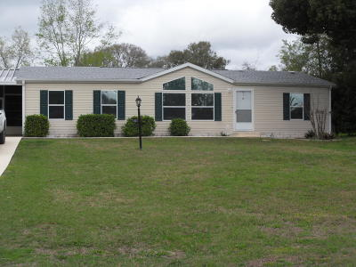 Ocala Mobile/Manufactured For Sale: 7953 SW 5 Place