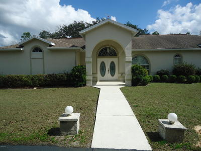 Dunnellon Single Family Home For Sale: 9785 SW 125th Terrace