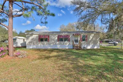 Ocala FL Single Family Home For Sale: $70,000