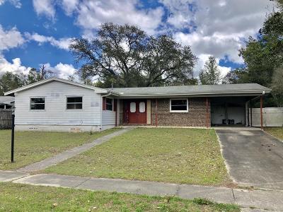 Ocala FL Single Family Home For Sale: $83,900