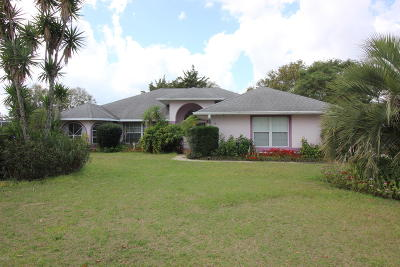 Ocala FL Single Family Home For Sale: $165,000