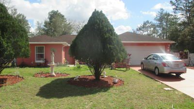 Marion Oaks North, Marion Oaks South, Marion Oaks Rnc Single Family Home For Sale: 15689 SW 49th Avenue Road
