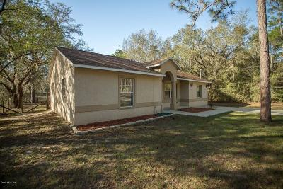 Dunnellon Single Family Home Pending-Continue to Show: 24122 SW Tiger Lake Boulevard