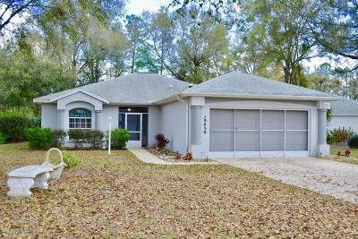 Dunnellon Single Family Home For Sale: 19430 SW 100 Loop
