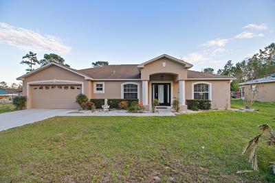 Ocala Single Family Home For Sale: 11 Pecan Run Radial
