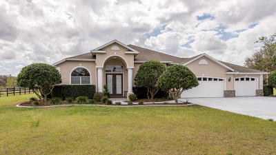 Ocala Single Family Home For Sale: 3400 NE 56th Street