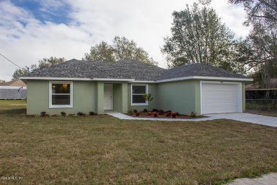 Ocala Single Family Home For Sale: 8567 Juniper Road
