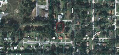 Ocala Single Family Home For Sale: 1324 NE 34th Street