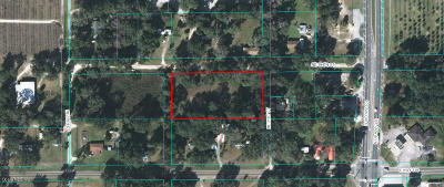 Citra Residential Lots & Land For Sale: NE 184th Street