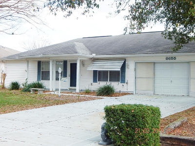 Ocala Single Family Home For Sale: 8655 SW 61st Terrace Road