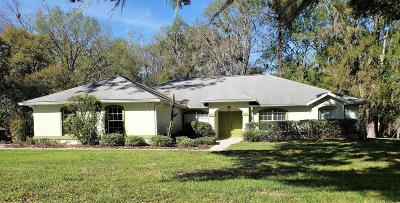 Ocala Single Family Home For Sale: 4576 NW 82nd Court