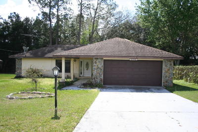 Dunnellon Single Family Home For Sale: 21572 SW Peach Blossom Street