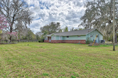Ocala Single Family Home For Sale: 428 NW 100th Street