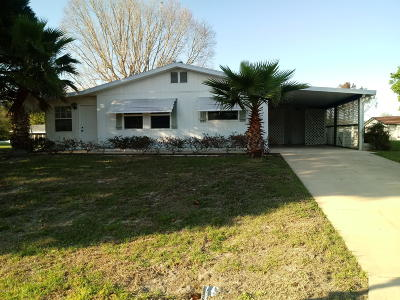 Ocala Single Family Home For Sale: 9941 SW 103rd Place