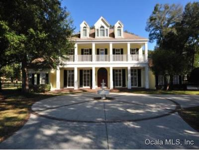 Ocala Single Family Home For Sale: 8475 NE 16th Terrace