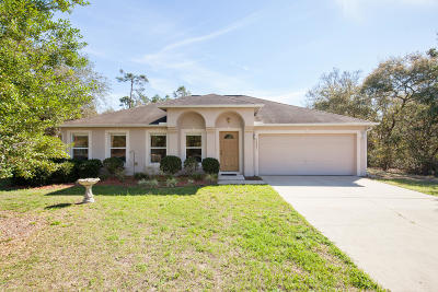Ocala Single Family Home For Sale: 13361 SW 30th Terr Road