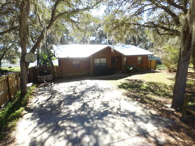 Fort McCoy Single Family Home For Sale: 22241 NE 101st Ter. Road