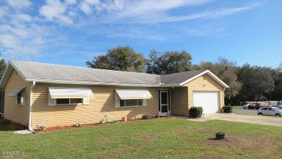 Ocala FL Single Family Home For Sale: $129,000