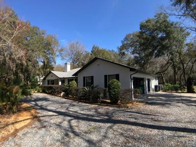 Dunnellon Single Family Home For Sale: 11165 N Blackfoot Point