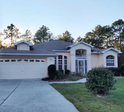 Citrus Springs Single Family Home For Sale: 6548 N Bedstrow Boulevard