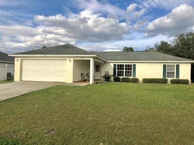 Marion Oaks North, Marion Oaks South, Marion Oaks Rnc Single Family Home For Sale: 15059 SW 29th Ave Road