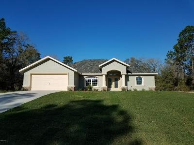 Dunnellon Single Family Home For Sale: 9924 SW 196th Avenue Road