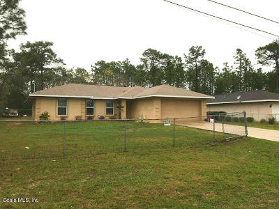 Marion County Rental For Rent: 54 Bahia Trace