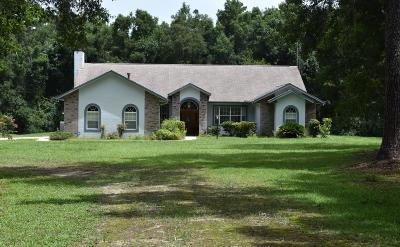 Ocala Single Family Home For Sale: 14731 W Highway 328