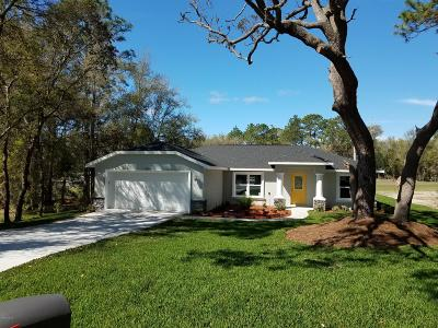 Dunnellon Single Family Home For Sale: 19957 SW 97th Place