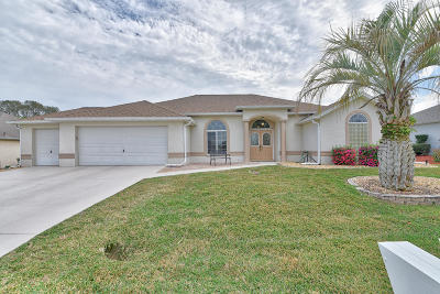 Ocala Palms Single Family Home For Sale: 5276 NW 20th Place