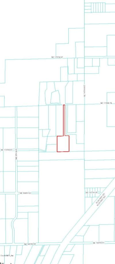 Citra Residential Lots & Land For Sale: NE 172nd Place