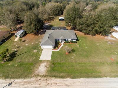 Dunnellon Single Family Home Pending: 11464 SW 131st Terrace