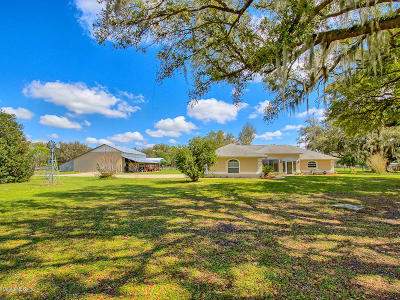 Ocala Farm For Sale: 10555 SE 25th Avenue