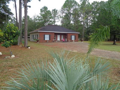 Levy County Single Family Home For Sale: 17050 NE Highway 27 Alt