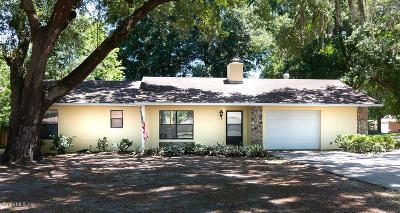Ocala Single Family Home For Sale: 4329 NE 20th Avenue