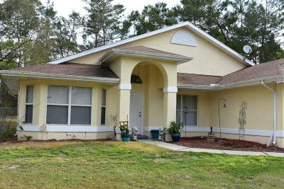 Ocala Single Family Home For Sale: 534 Marion Oaks Boulevard