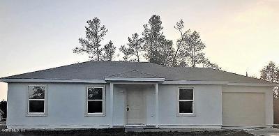 Ocala Single Family Home For Sale: 9544 Bahia Road