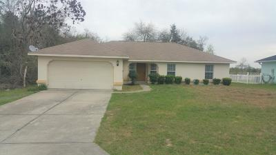 Marion Oaks North, Marion Oaks South, Marion Oaks Rnc Single Family Home For Sale: 14771 SW 21st Terrace