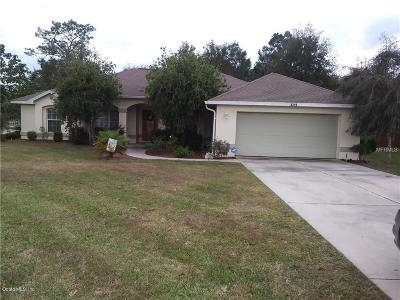 Ocala Single Family Home For Sale: 4319 NW 4th Circle