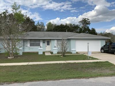Marion Oaks North, Marion Oaks South, Marion Oaks Rnc Single Family Home For Sale: 3571 SW 150th Loop