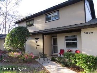 Ocala Condo/Townhouse For Sale: 3809 NE 19th Street Circle