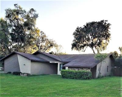 Dunnellon Single Family Home Pending-Continue to Show: 11602 Seminole Road