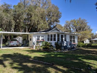 Crystal River Single Family Home For Sale: 7942 W River Bend Road