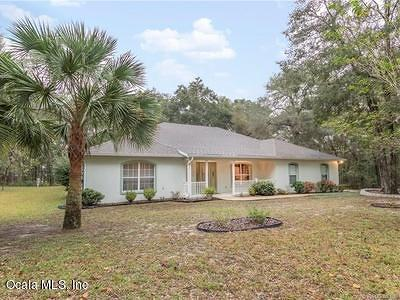 Dunnellon Single Family Home For Sale: 7801 SW 186th Circle