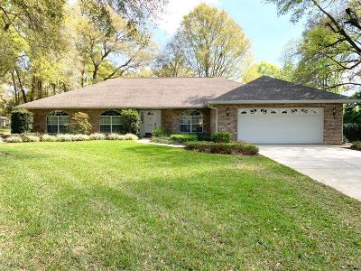 Belleview Single Family Home For Sale: 11405 SE 73 Court