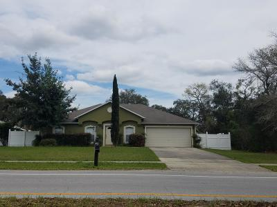 Ocala Single Family Home For Sale: 325 Marion Oaks Course